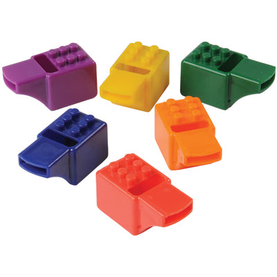 Block Mania Whistles (pack of 12) - Party Themes