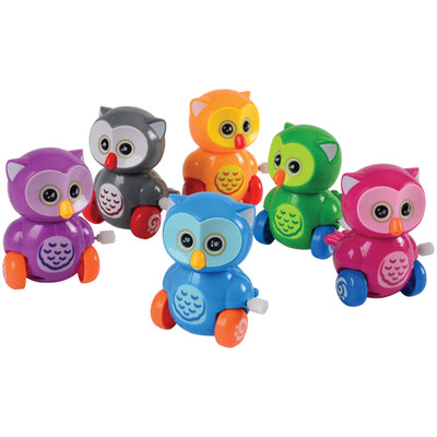 Wind Up Owls (pack of 12) - Toys