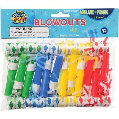 blowouts 1 dozen   Novelties and Toys