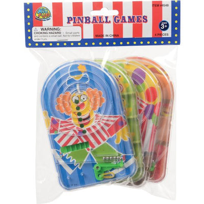 Carnival Pinball Games (set of 4) - Party Themes