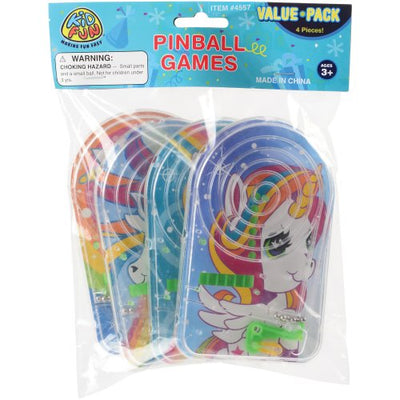unicorn pinball games set of 4   Novelties and Toys
