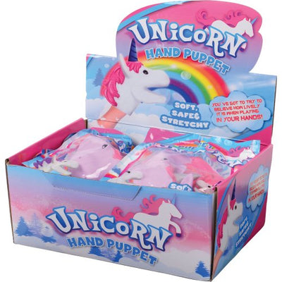 Unicorn Hand Puppets (set of 12) - Party Themes