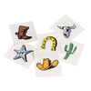 Western Western Tattoos (144 pieces) - Party Themes