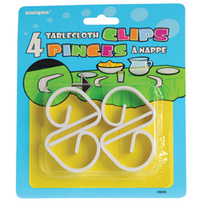 table cloth clips  - Carnival Supplies