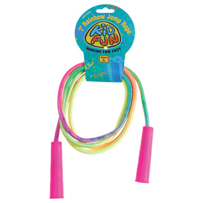 rainbow jump ropes  - Carnival Supplies