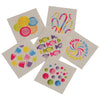 Candy Tattoos (144 Ct) - Costumes and Accessories