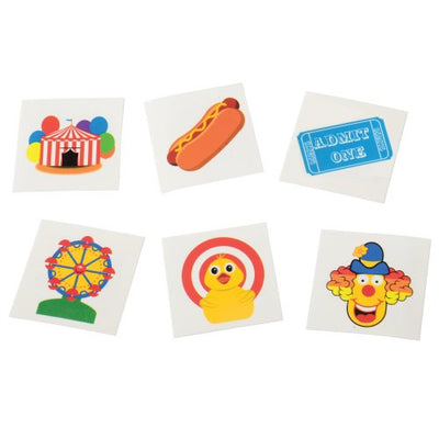 Carnival Tattoos (144 ct) - Carnival Supplies
