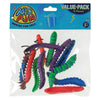 neon caterpillars  - Carnival Supplies