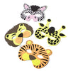 Wild Animal Masks (One Dozen) - Costumes and Accessories