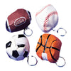 Sports Pouch Keychains (one dozen) - Sports