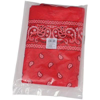 red bandannas  - Carnival Supplies