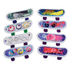 Mini Finger Skateboards (One Dozen) - Toys