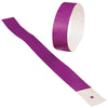 Adhesive Event Bands Purple (pack of 100) - Carnival Supplies
