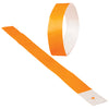 adhesive event bands orange pack of 100 cs c18 09  - Carnival Supplies