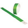 Adhesive Event Bands Green (pack of 100) - Carnival Supplies