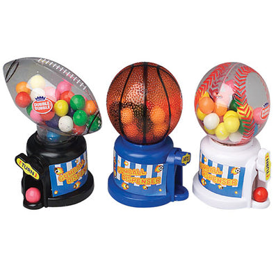 Party Candy Sports Ball Gum Dispensers (One Dozen) - Party Supplies