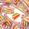 Party Candy Gummy Hot Dogs (60 Pieces) - Party Supplies