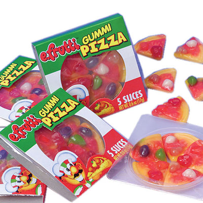 Pizza Gummies (Box Of 48) - Party Supplies