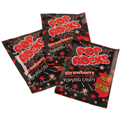Pop Rocks-Strawberry (pack of 24) - Party Supplies