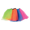 Neon Tutus-Adult Size, 4 per Bag - Costumes and Accessories