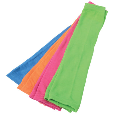 Neon Leg Warmers, 4 Pairs - Costumes and Accessories
