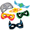 Foam Superhero Masks (1 dozen) - Party Themes