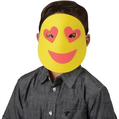 emoticon foam masks 1 dozen  - Carnival Supplies