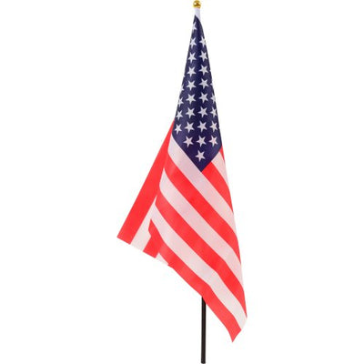 4th Of July American Flag 12 In. X 18 In. Cloth (One Dozen)
