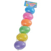 plastic eggs 3 inch  - Carnival Supplies