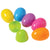 Plastic Eggs - 2.5 Inch (one dozen eggs)