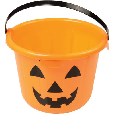 light up pumpkin pail  - Carnival Supplies