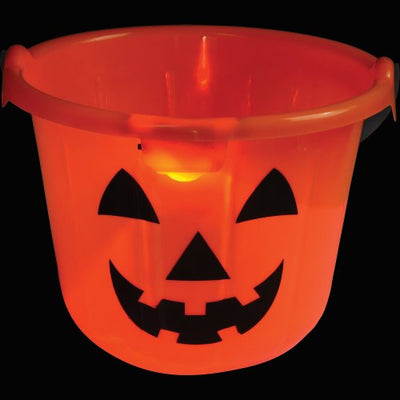 Light Up Pumpkin Pail - Holidays