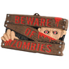 Beware Of Zombies Sign - Party Themes