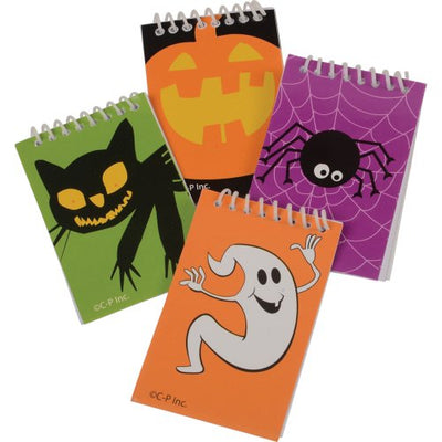 halloween notebooks set of 8  - Carnival Supplies