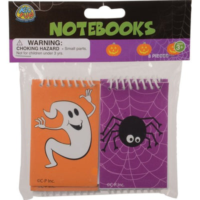 Halloween Notebooks (set of 8) - Holidays