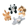 Plush Toy Mini Wild Animal Beanbags (One Dozen) - by Carnival Source Discount Toys