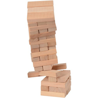 wooden tower game 10 5 in   Novelties and Toys