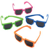 Neon Robot Glasses (One Dozen) - Party Themes