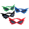 Batwing Superhero Glasses (one dozen) - Costumes and Accessories