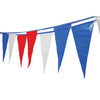 Red-White-Blue Pennants - Carnival Supplies