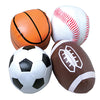Foam Sports Balls (One Dozen)