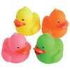 Mini Neon Ducks (One dozen) - Carnival Supplies