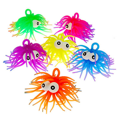 Two Tone Puffer with Eyes (1 Dozen) - Toys