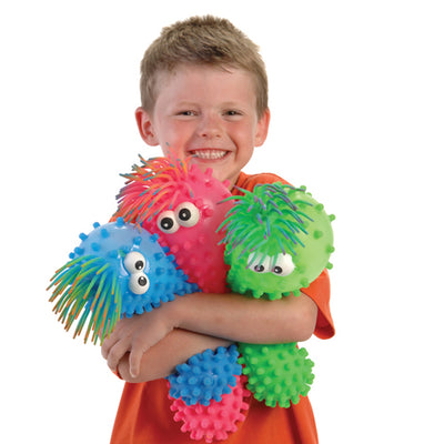 knobby puffer toy with eyes  - Carnival Supplies