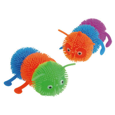 Puffer Caterpillars (one dozen) - by Carnival Source Discount Toys
