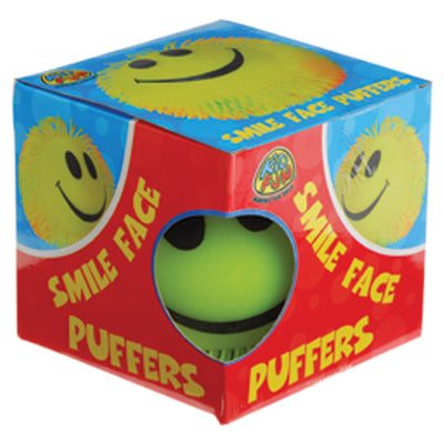 Smile Face Puffer - 9 inch - Toys