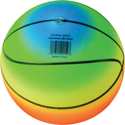 rainbow basketballs 5 inch   Novelties and Toys