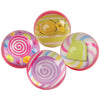 Candy Bounce Balls 32Mm (pack of 12) - Toys