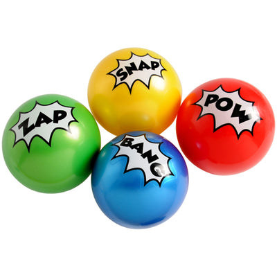 Superhero Pvc Balls 4 In (pack of 12) - Party Themes