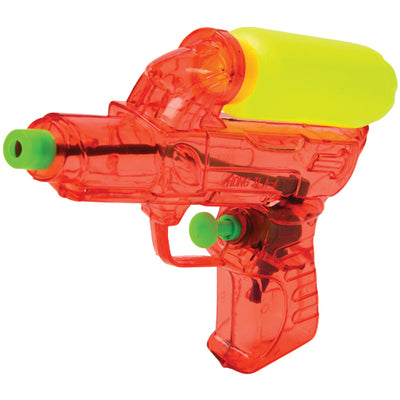 Transparent Squirt Guns W/Tank (pack of 12) - Toys